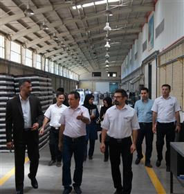 بازدید مدیرکل اداره استاندارد قزوین از شرکت نیرو تهویه البرز