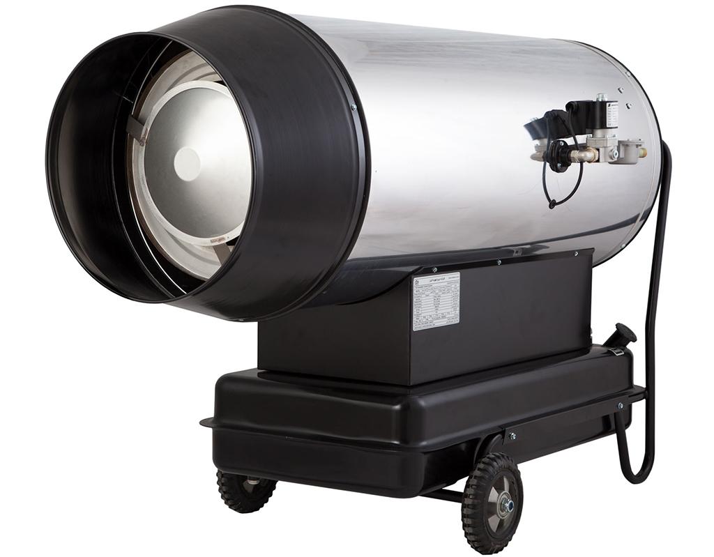 جت هیتر دوموتوره دوگانه سوز باکدار البرز مدل 2DB-100