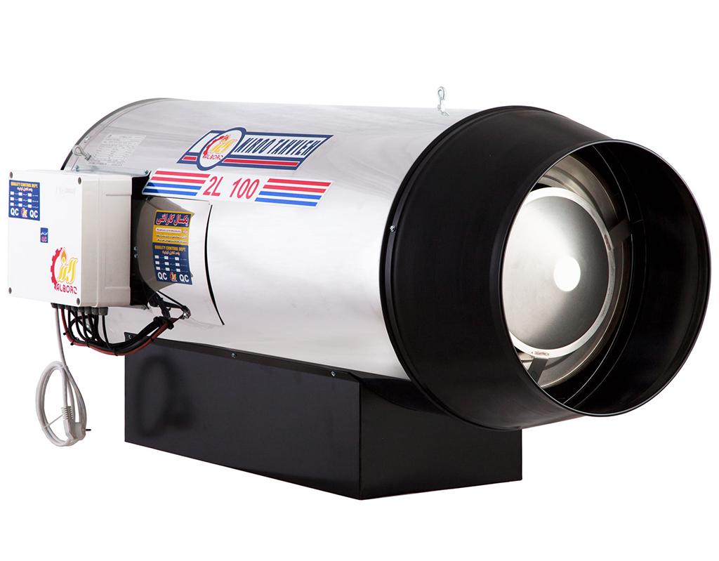 جت هیتر دوموتوره گازوئیلی 2L-100