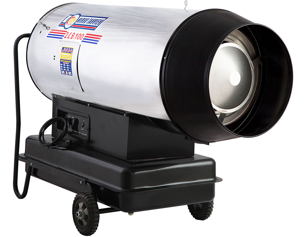 جت هیتر دوموتوره گازوئیلی باکدار 2LB-100