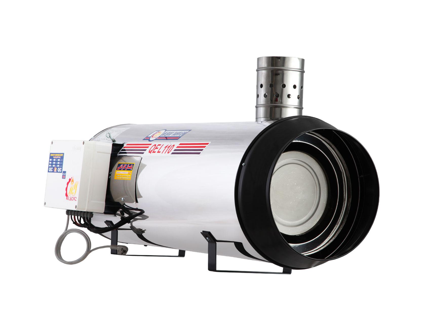جت هیتر گازوئیلی دودکش دار QEL-110