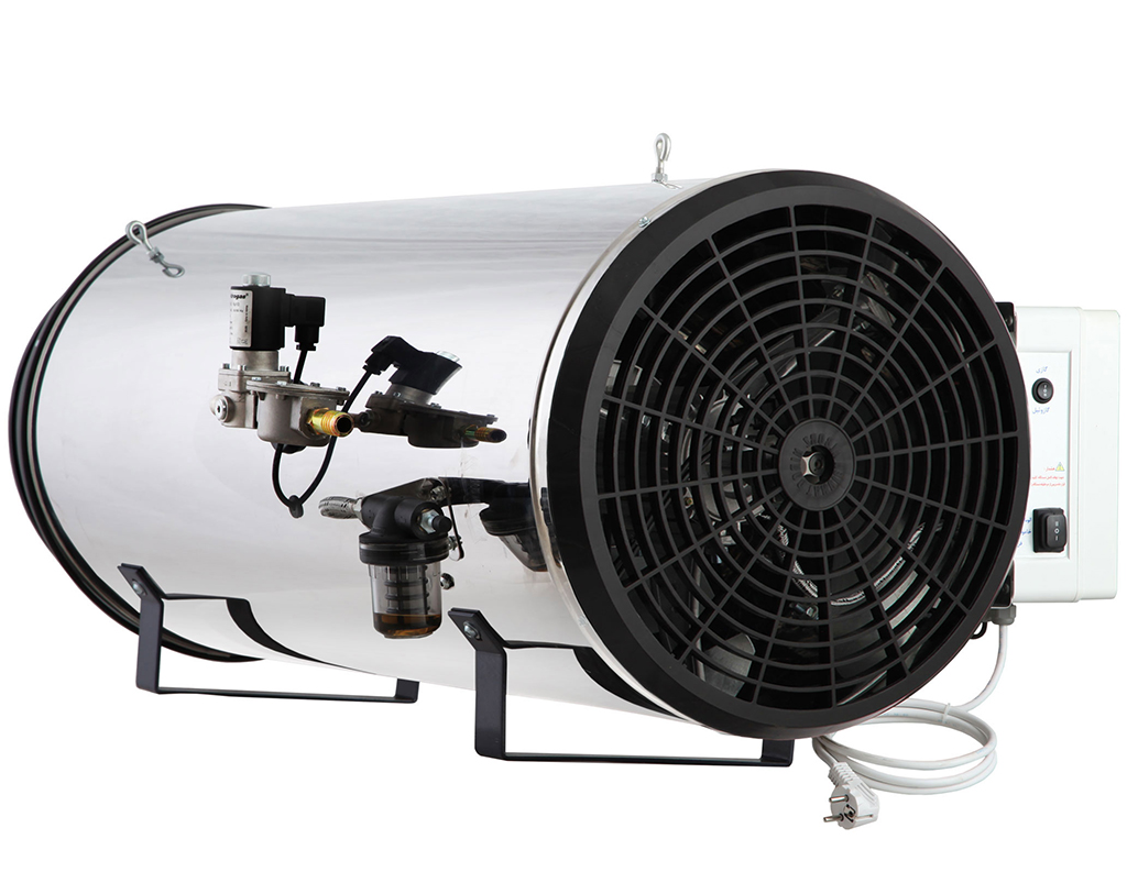 جت هیتر دوگانه سوز البرز مدل GLD-100
